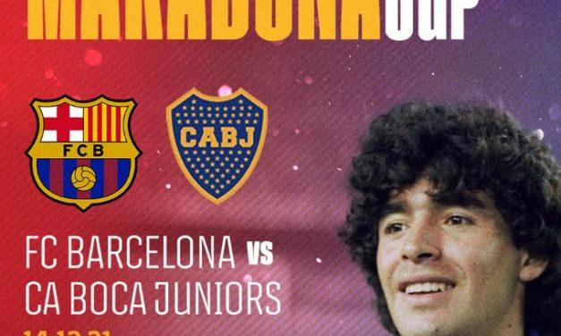 Barcelona and Boca Juniors meet for Maradona Cup