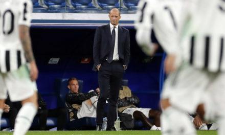 Allegri explica la derrota de la Juventus: 'Nunca más'