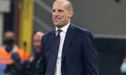 Allegri explains Juventus choices against Inter
