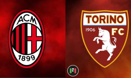 Serie A EN VIVO: Milán vs.Torino