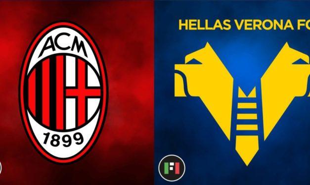 Serie A LIVE: Milan vs. Verona