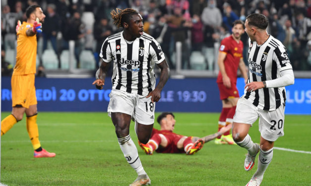 Kean 'simplemente feliz de que el balón haya entrado' para la Juventus