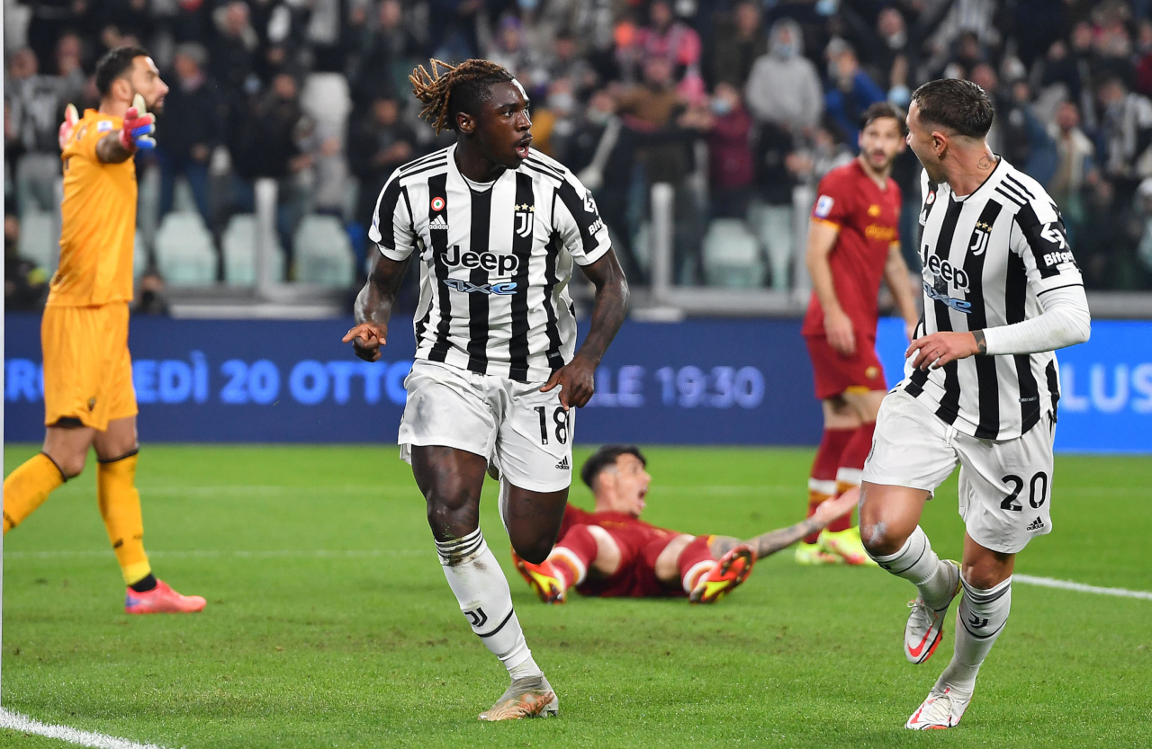Kean 'just happy the ball went in' for Juventus - Football Italia