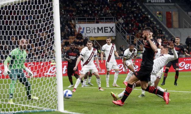 Serie A   Milan 1-0 Torino: Giroud does enough
