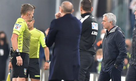 Juventus vs. Roma | Orsato: 'You blame me because he missed the penalty?'