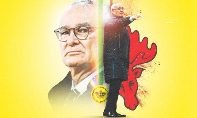 Official: Watford appoint Ranieri