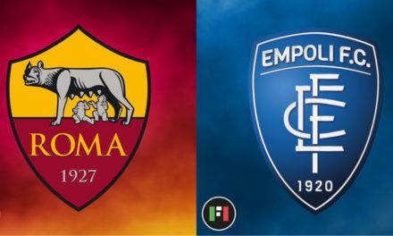 Serie A Preview | Roma vs. Empoli: Post-derby tension