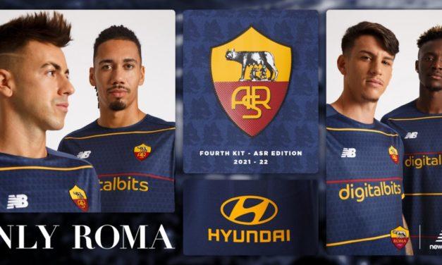 Roma unveil new ASR fourth kit