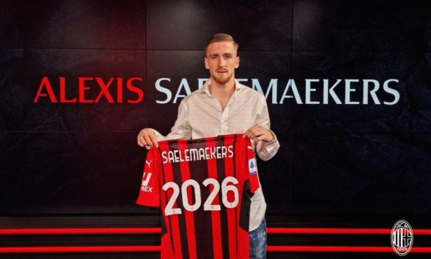 Oficial: Saelemaekers renueva con el Milan hasta 2026