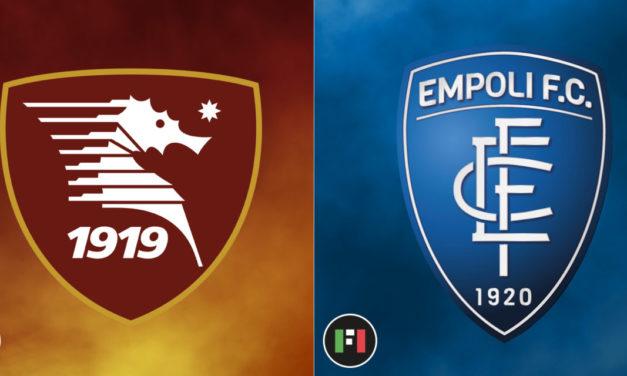 Serie A Preview | Salernitana vs. Empoli: Colantuono debut