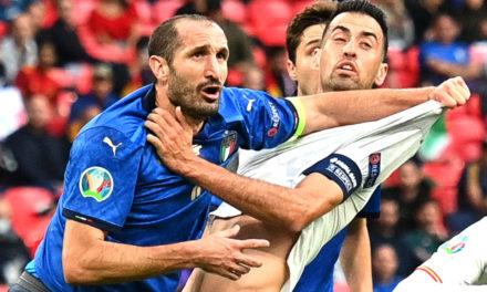 Chiellini se planteó retirarse: 'La campeona de Europa me mantuvo de pie'