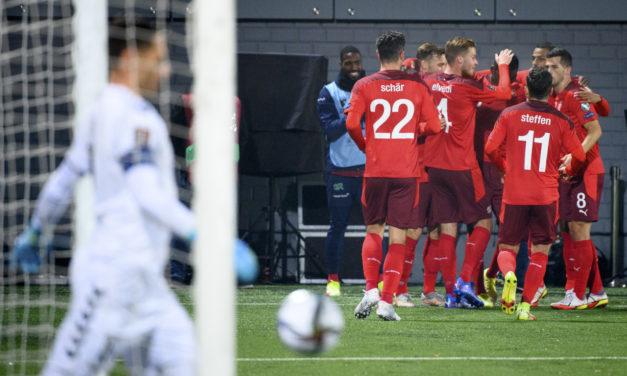Suiza atrapa a Italia, pero Azzurri tiene mejor diferencia de goles