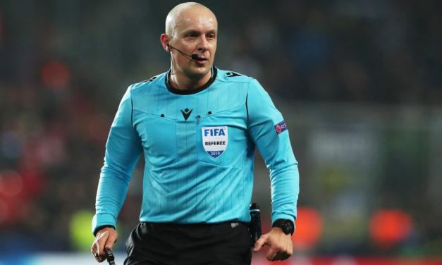 Who is Manchester United-Atalanta referee Szymon Marciniak?