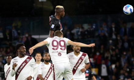 Serie A | Napoli 1-0 Torino: Osimhen keeps it 100
