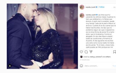 Wanda: 'Icardi signed divorce papers, but we're back together'