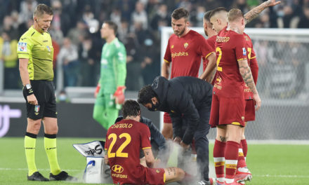 Zaniolo out with sprained knee, Roma schedule medical tests