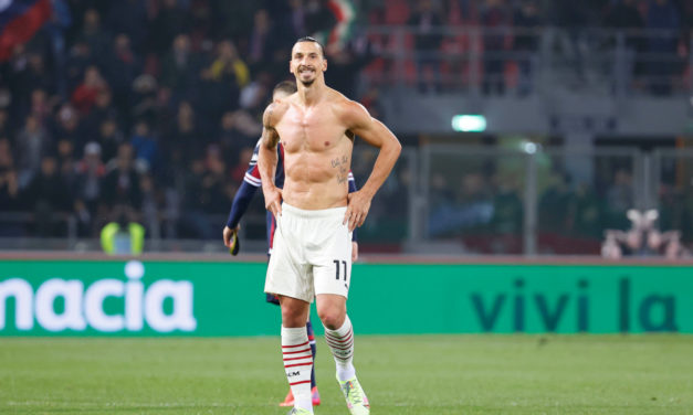Ibrahimovic becomes fourth-oldest Serie A scorer