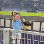 Lazio suspend eagle trainer after fascist salute – video