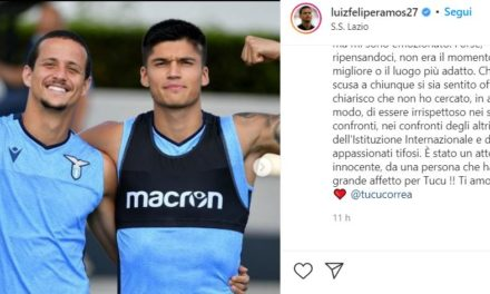 Luiz Felipe explains why he jumped on Correa