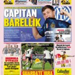Today's Papers – Barella renewal, Lazio face Inzaghi