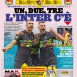 Today's Papers – Inter are back, Milan bitter