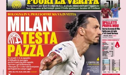 Today's Papers – Crazy Milan, Inter-Juve and raging Mou