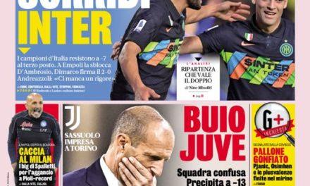Documentos de hoy - Neurotic Juve, Inter y Roma vuelven a la pista