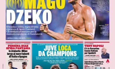 Today's Papers – Juve Loca, Inter thank Dzeko