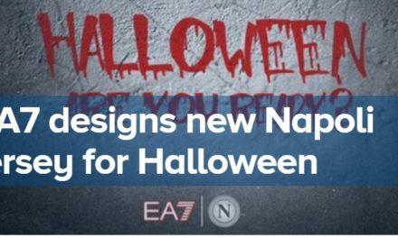 Video: Napoli unveil Halloween kit