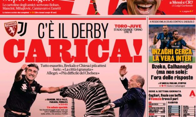 Today's Papers – Decisive Turin Derby