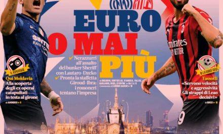 Today's Papers – Orsato controversy, invincible Napoli