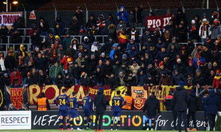 Roma fans refused Pellegrini's shirt