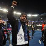 Video: Ronaldinho reunites with Messi and Neymar in Paris