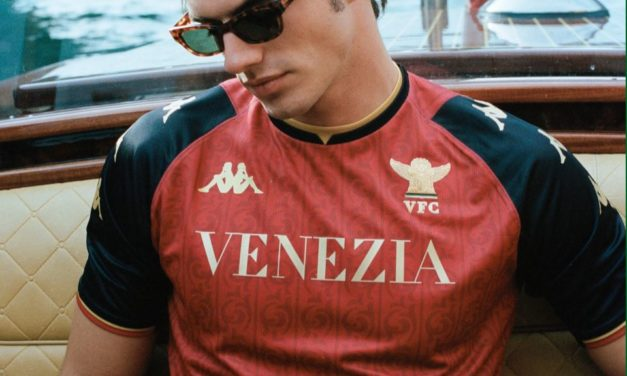 Watch: Venezia unveil fourth kit